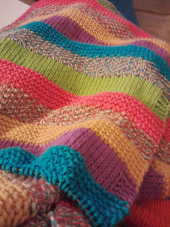 Ravelry Striped Blanket Pattern By Lily Sugar N Cream And