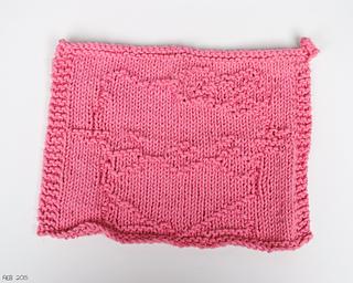 Hello Kitty Dishcloth Knitting Pattern : Ravelry: Hello Kitty Cloth pattern by Amanda Ballard
