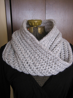 Ravelry Chunky Brioche Cowl With A Moebius Twist