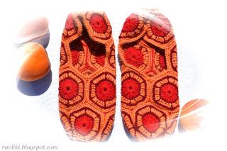 Hexagon_slippers_peach02_small2