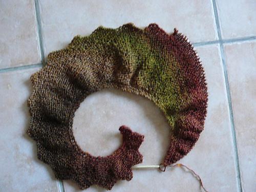"""针织围巾""""龙的尾巴"""" - maomao - 我随心动"""