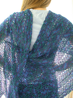 Chevron Lace Shawl Crochet Pattern : Ravelry: Simple Chevron Crochet Shawl pattern by Robin J ...