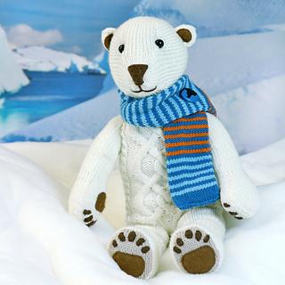 Ravelry: ILUQ the Polar Bear pattern by Steffi Hochfellner