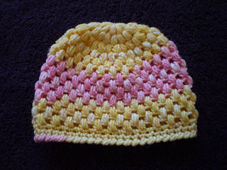 Ravelry Baby Puff Stitch Crochet Hat Pattern By Teresa