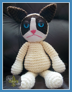 Grumpy Cat Amigurumi Pattern Free : Ravelry: Crabby Cat Amigurumi pattern by Joyful Yarns Crochet