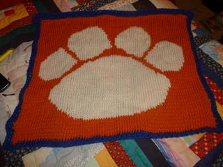 Ravelry Tiger Paw Afghan Pattern By Brynn Riordan