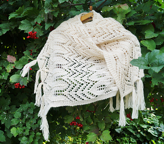 Ravelry Knitting Pattern Central : Ravelry: Milky Mist Wrap pattern by Natalia Shepeleva