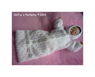 Emmy Doll Knitting Pattern : Ravelry: Emmy Doll Sleeping Bag Knitting Pattern #121 ...