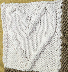 Knitting Patterns For Scarves Free : Ravelry: Cabled Heart Quadrangle pattern by P.K. Olson