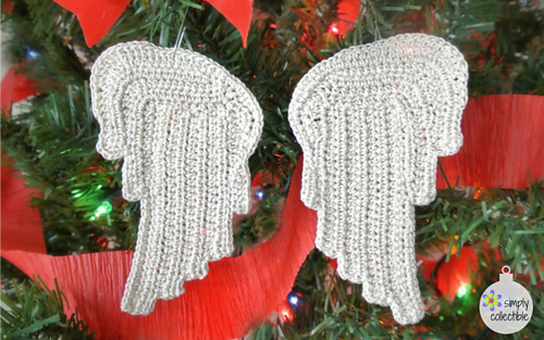 Crochet Pattern Angel Wings : Ravelry: Tiny Angel Wings pattern by Celina Lane