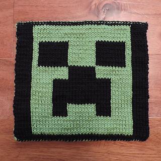 Minecraft Knitting Patterns : Ravelry: 2016 GAL: Minecraft pattern by Megan-Anne Llama