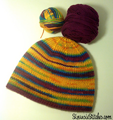Knitting Decreasing Stitches Hat : Ravelry: The Double Knitting Demystified Hat pattern by Siouxsie Stitches
