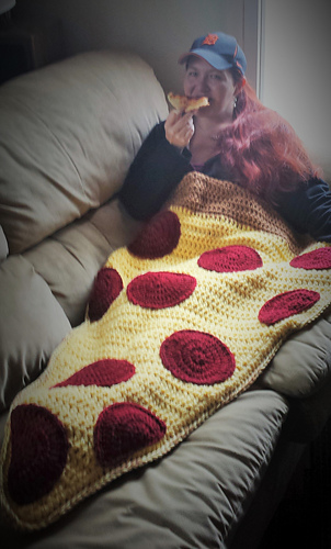 Ravelry: Pizza By the Slice Blanket pattern by Raechel ...