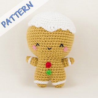 Ravelry: Ginger the Gingerbread Man Amigurumi pattern by ...