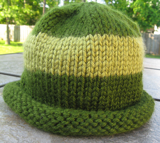 Ravelry Rolled Brim Hat Pattern By Craftbits