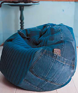 Ravelry Denim Beanbag Pattern By Erika Knight
