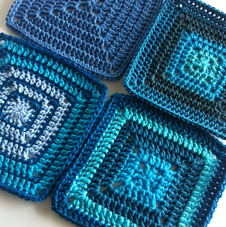 Ravelry: Solid Granny Square for Beginners pattern by ...