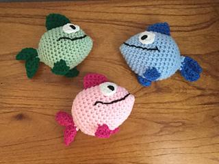 Ravelry: Amigurumi Funny Fish Plush pattern by Jenn Mulherin