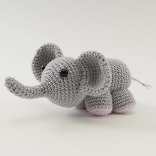 Amigurumi Animals Susan Yeates : Ravelry: Maximus the Amigurumi Elephant pattern by Susan ...