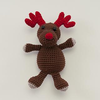 Amigurumi Animals Susan Yeates : Ravelry: Amigurumi Rudolf the Red Nosed Reindeer pattern ...