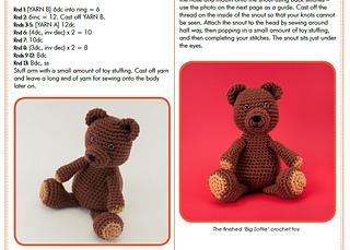 Ravelry: Big Softie - Crochet Bear pattern by Susan Yeates