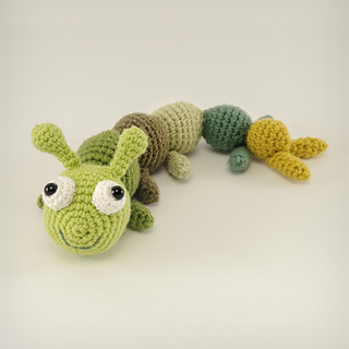 Ravelry: Lettuce the Caterpillar pattern by Susan Yeates