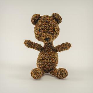Amigurumi Animals Susan Yeates : Ravelry: Tiny Tweedy Amigurumi Teddy Bear pattern by Susan ...