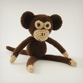 Amigurumi Animals Susan Yeates : Ravelry: Monkey-Do - Crochet Monkey (Amigurumi) pattern by ...