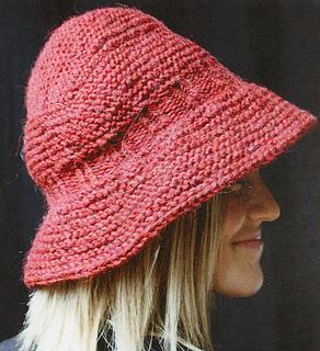 Elizabeth Zimmermann Knitting Patterns : Ravelry: Brimmed Hat - Horizontal pattern by Elizabeth Zimmermann