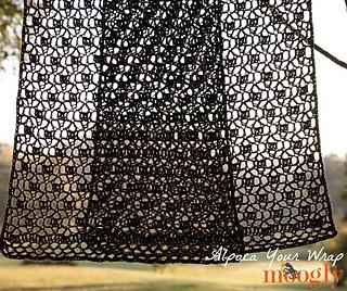 Ravelry: Alpaca Your Wrap pattern by Tamara Kelly
