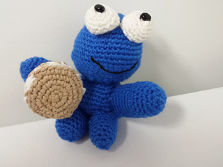 Amigurumi Cookie Monster Pattern : Ravelry: Crocheted Cookie Monster Lookalike Amigurumi ...