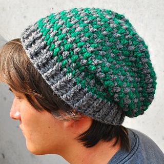 Free Crochet Pattern Houndstooth Hat : Ravelry: Houndstooth Boyfriend Hat pattern by Taylor Tengelsen