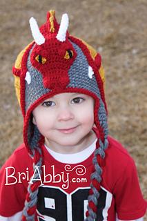 Free Crochet Pattern For Dragon Hat : Ravelry: Dragon Hat pattern by Joni Memmott / BriAbby