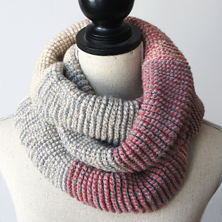 Ravelry: Ombre Infinity Scarf - Tunisian Crochet pattern ...