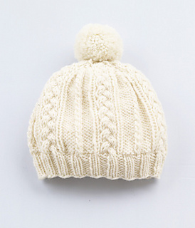 Knitting Patterns Baby Cable Hats : Ravelry: Cable Pattern Hat pattern by Lion Brand Yarn