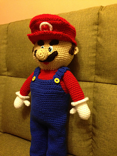 Amigurumi Super Mario Pattern : Ravelry: My Mario bros pattern by Teresa Alvarez
