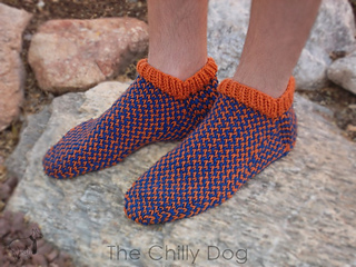 Knitting Pattern For Socks In The Round : Ravelry: Knitting in the Round: 10 Knit Sock Patterns and Knitted Slipper Pat...