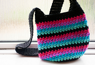 Ravelry: Cluster Stitch Bag Tutorial pattern by bobwilson123