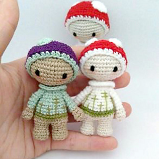 Small Amigurumi Doll Pattern : Ravelry: Tiny Lalylala Doll pattern by Natalia Kulina