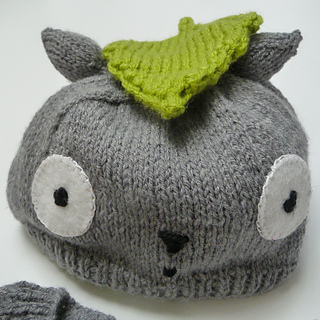 Totoro Knitting Pattern : Ravelry: Totoro baby outfit pattern by Tiggs Togs