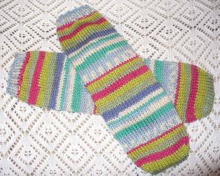 Knitting Patterns Heel Less Socks : Ravelry: Basic Fingering Weight Tube Sock pattern by Kathleen Taylor