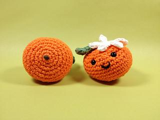 Ravelry: Sweet Amigurumi Orange pattern by Kate Wood