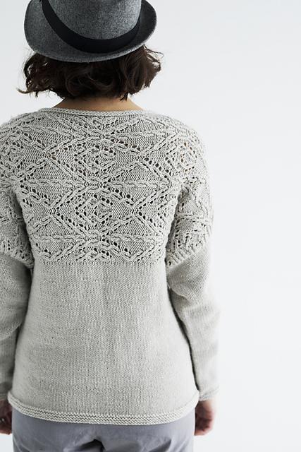 Chandail tricoté Gullfoss par Rie