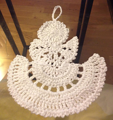 Ravelry Crochet Thread Angel Pattern By Teresa Richardson