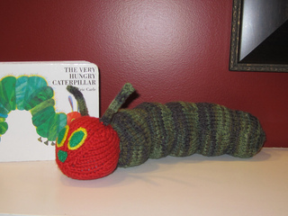 Ravelry: Hes Hungry... Caterpillar pattern by Jillian Plante