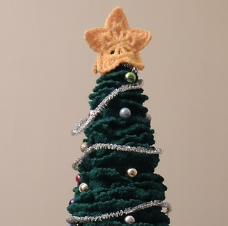 Free Crochet Patterns Christmas Tree Topper : Ravelry: Christmas Star Mini Tree Topper pattern by ...