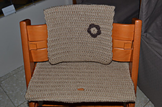ravelry cover set for tripp trapp high chair replaces. Black Bedroom Furniture Sets. Home Design Ideas