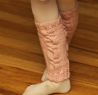 Ravelry: Toddler Dance Leg Warmers pattern by Vanessa Cayton