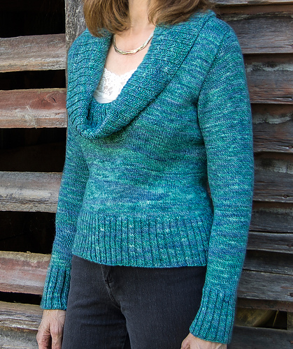 Acadia Top-Down Pullover #102 PDF