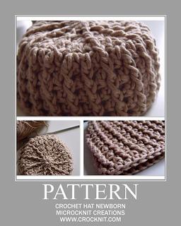Ravelry: Crochet Hat Newborn pattern by Barbara Summers